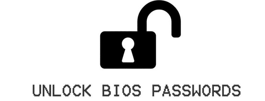 UNLOCK BIOS PASSWORDS - KAMIL