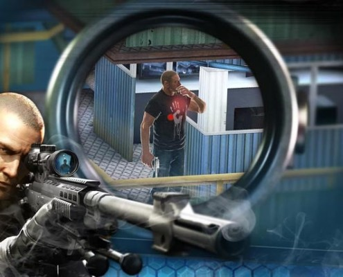 contract killer sniper - android