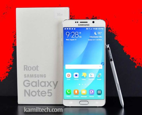 Root-Samsung-Galaxy-Note-5-V | kamiltech